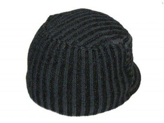 czapka zimowa z daszkiem FALL OUT BOY - GREY