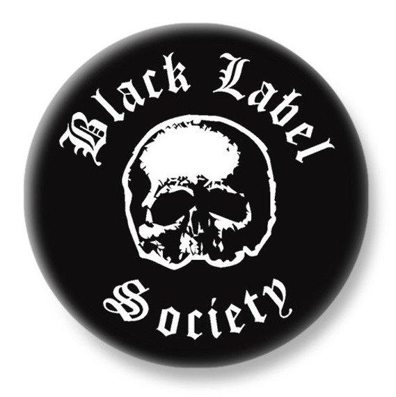 duży kapsel BLACK LABEL SOCIETY - SKULL