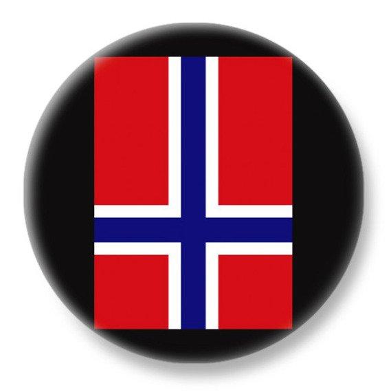 duży kapsel NORWAY INVERTED CROSS