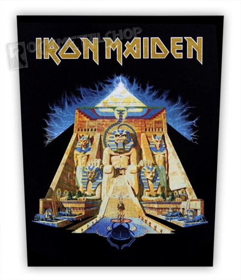 ekran IRON MAIDEN - POWERSLAVE