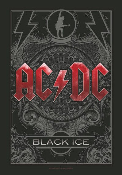 flaga AC/DC - BLACK ICE