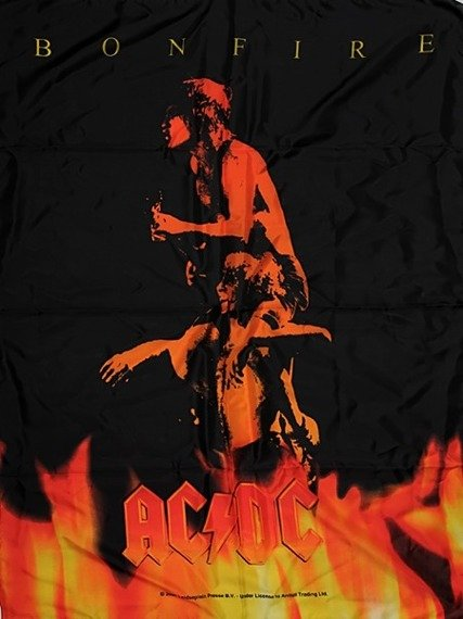 flaga AC/DC - BONFIRE