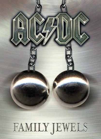 flaga AC/DC - FAMILY JEWELS