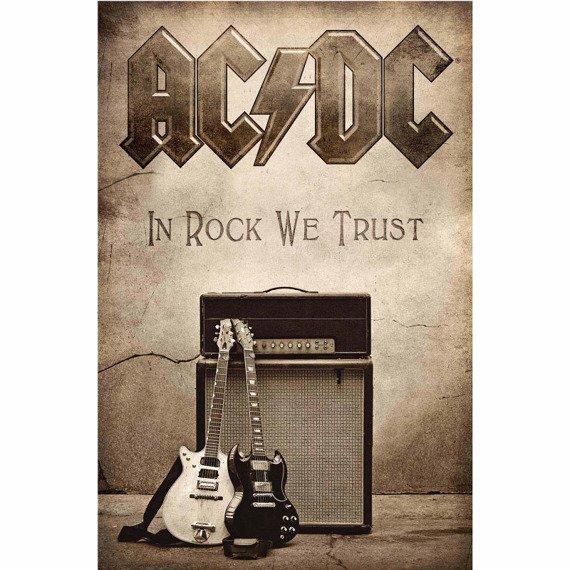 flaga AC/DC - IN ROCK WE TRUST