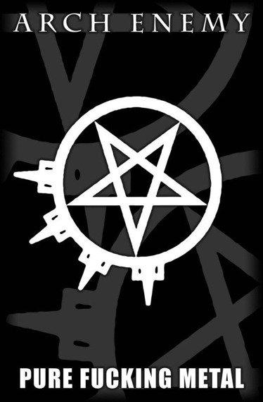 flaga ARCH ENEMY - PURE FUCKING METAL