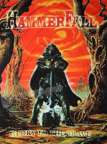 flaga HAMMERFALL - GLORY TO THE BRAVE
