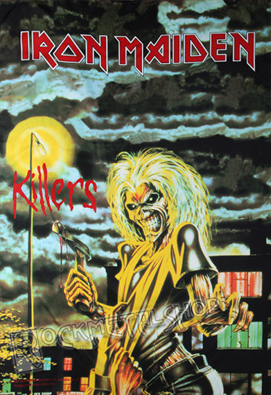 flaga IRON MAIDEN - KILLERS