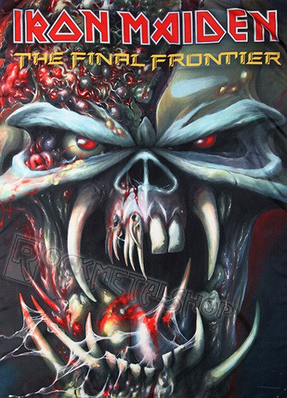 flaga IRON MAIDEN - THE FINAL FRONTIERS