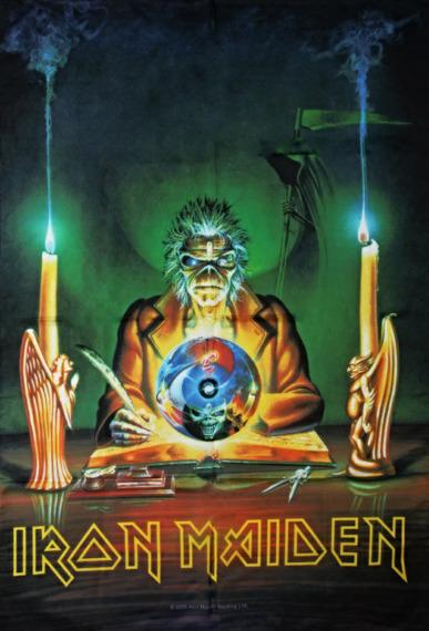 flaga IRON MAIDEN - THE PROPHECY