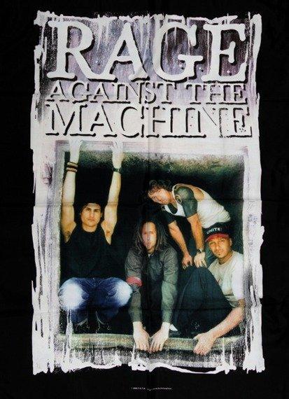 flaga RAGE AGAINST THE MACHINE - FRAMED PIC