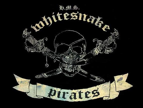 flaga WHITESNAKE - PIRATES