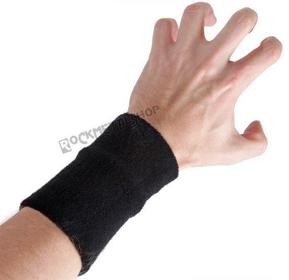 frotka na rękę CZARNA bez nadruku
