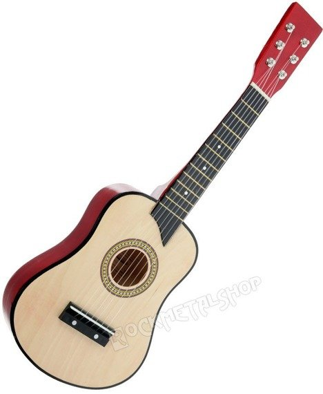 gitara 1/2 dla dzieci NATURAL WOOD