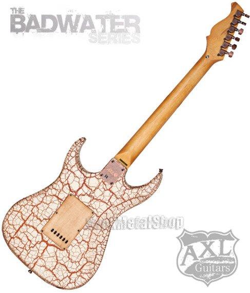 gitara elektryczna AXL SRO BADWATER / WHITE CRACKLE