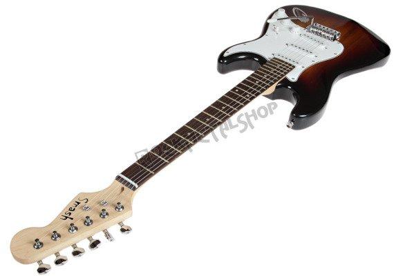 gitara elektryczna SMASH STRAT Tremolo, 3x Single Coil / SUNBURST