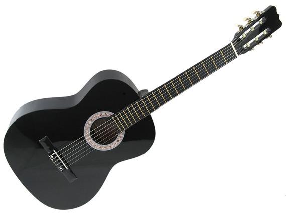 gitara klasyczna SKY WAY AC-39 BK czarna