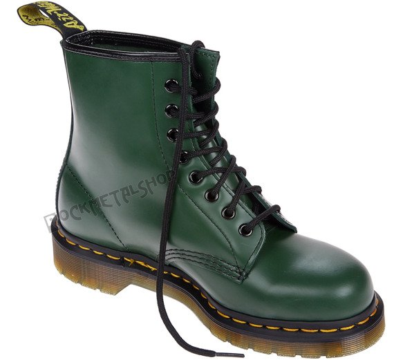 glany DR. MARTENS - DM 1460 GREEN SMOOTH