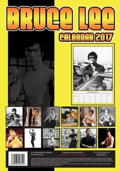 kalendarz BRUCE LEE 2017