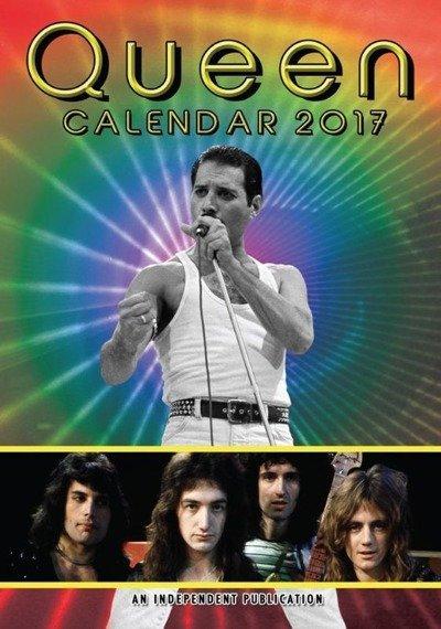 kalendarz QUEEN 2017