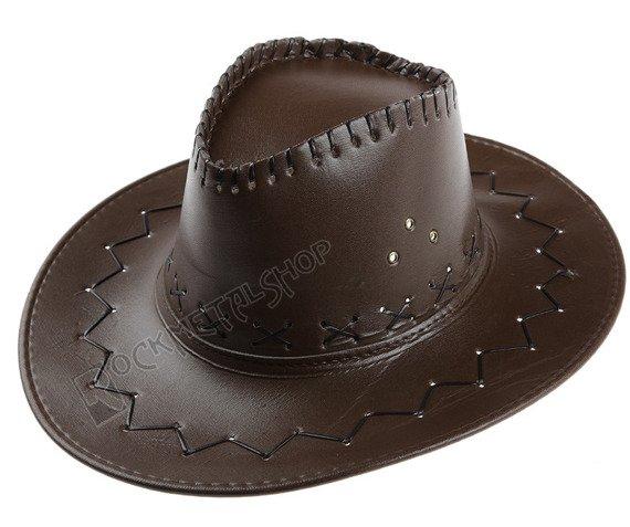 kapelusz KOWBOJSKI DARK BROWN