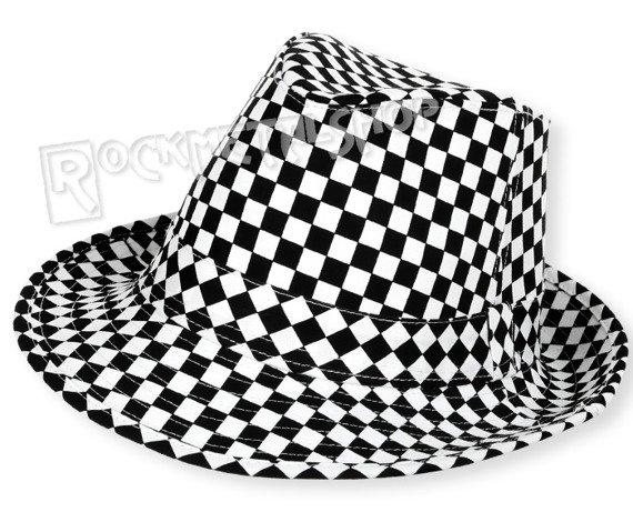 kapelusz ROCK DADDY - BLACK/WHITE