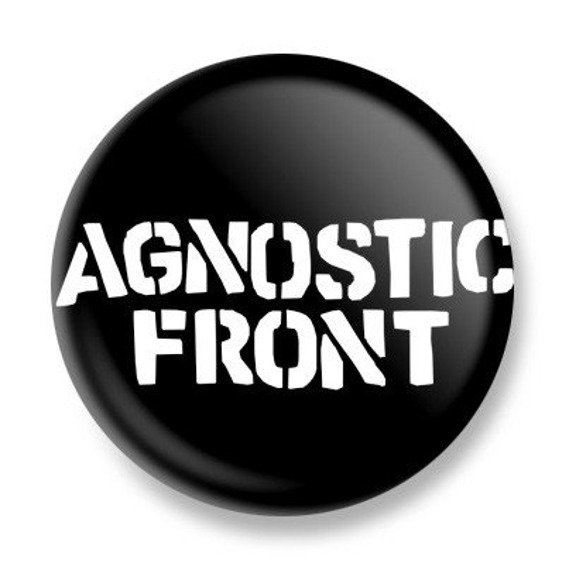 kapsel AGNOSTIC FRONT - LOGO 3