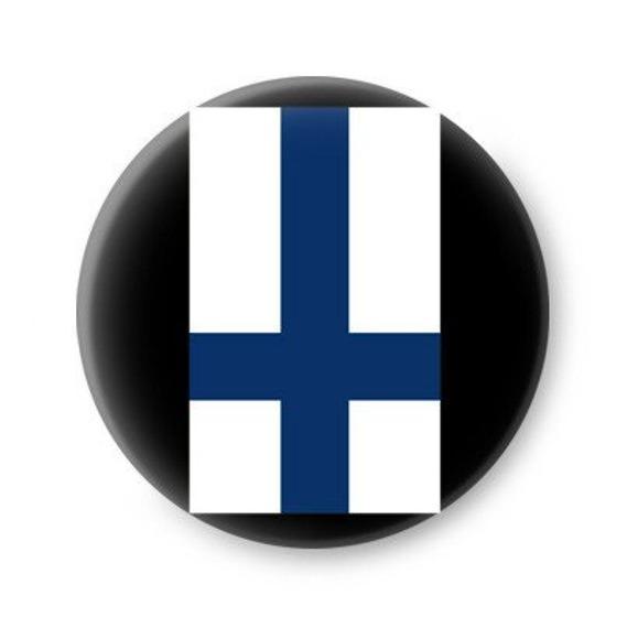 kapsel FINLAND INVERTED CROSS