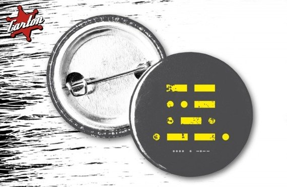 kapsel HEY - MURP czarno-żółty