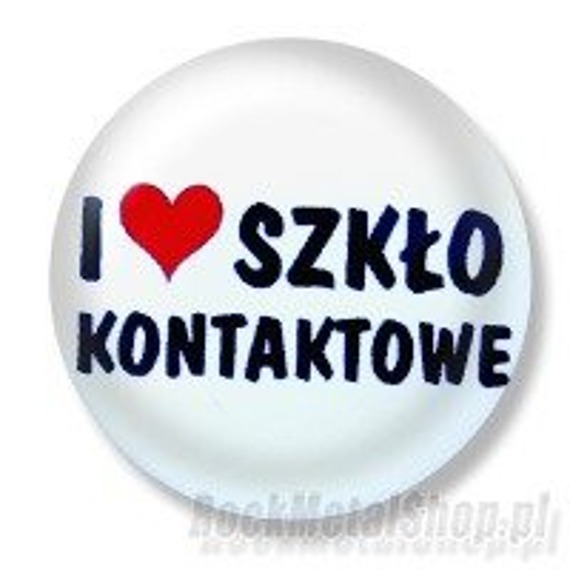 kapsel I LOVE SZKŁO KONTAKTOWE Ø25mm