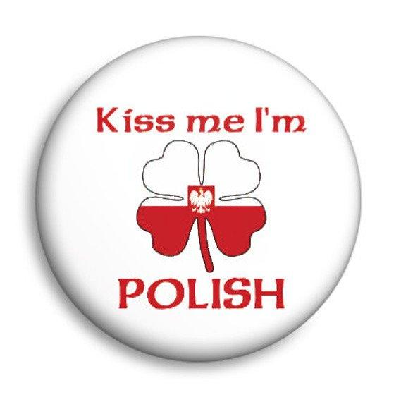 kapsel KISS ME I'M POLISH Ø25mm