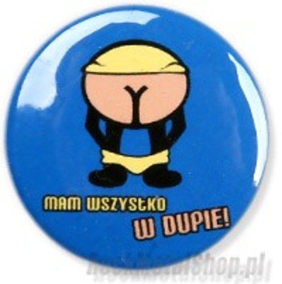 kapsel MAM WSZYSTKO W DUPIE Ø25mm