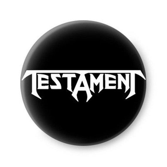 kapsel TESTAMENT - LOGO