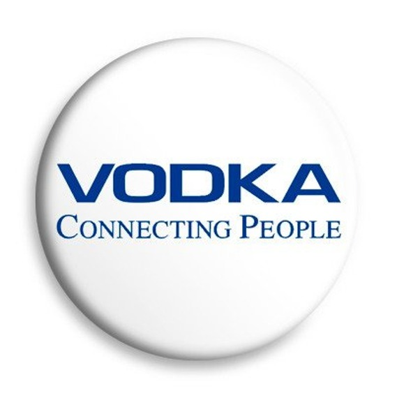 kapsel VODKA CONNECTING PEOPLE Ø25mm