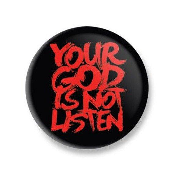 kapsel mały BLACK ICON - YOUR GOD IS NOT LISTEN (KICON_108M)