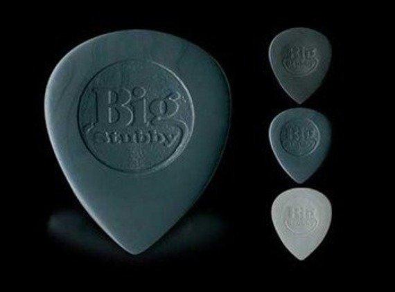 kostka gitarowa DUNLOP - NYLON BIG STUBBY 2mm (grey) 445R2.0