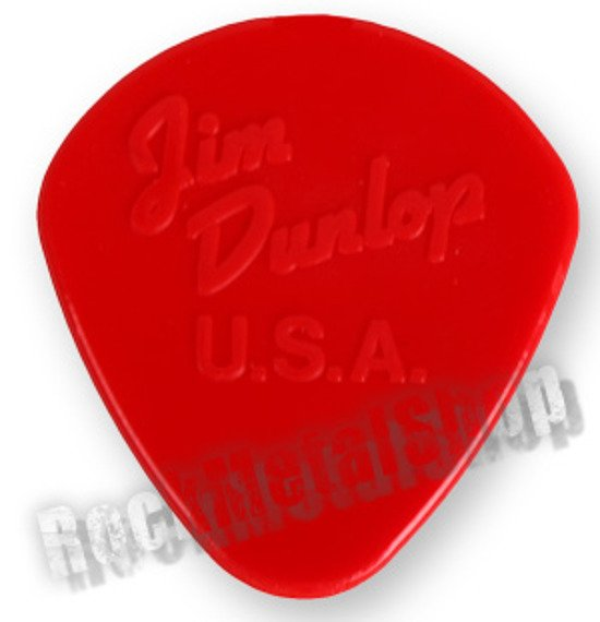 kostka gitarowa JIM DUNLOP - NYLON JAZZ I / 1,10 RED (47R1N)