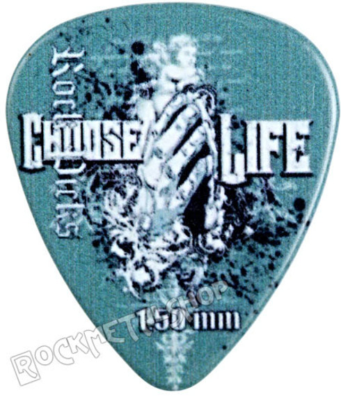 kostka gitarowa ROCK PICK - CHOOSE LIFE