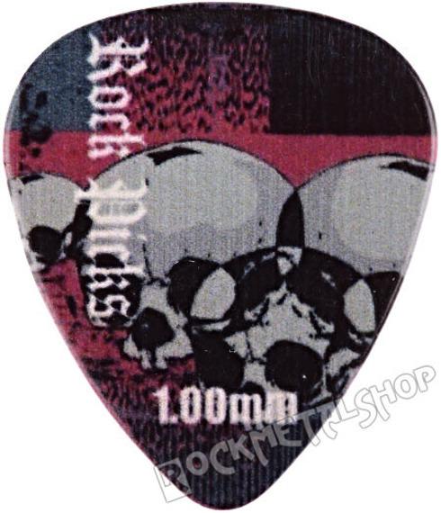 kostka gitarowa ROCK PICK - SKULLS
