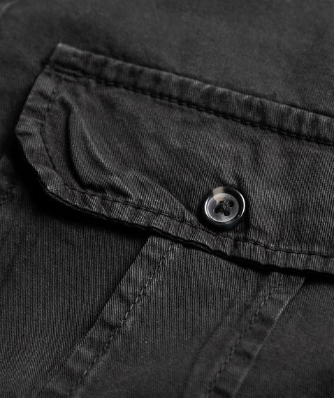 koszula 1/1 PLAIN SUMMER BLACK