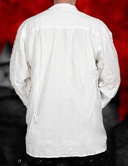 koszula GOTYCKA biała