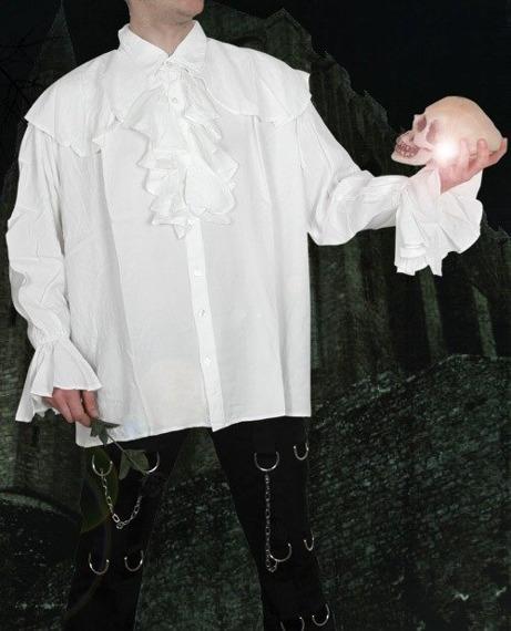 koszula GOTYCKA biała (58528)