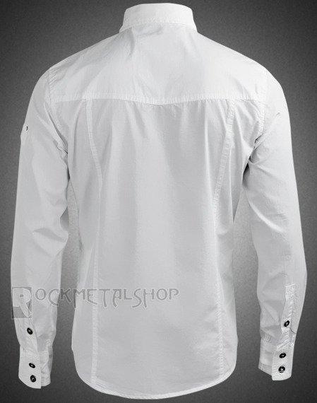 koszula MEN SHIRT SLIM - WHITE