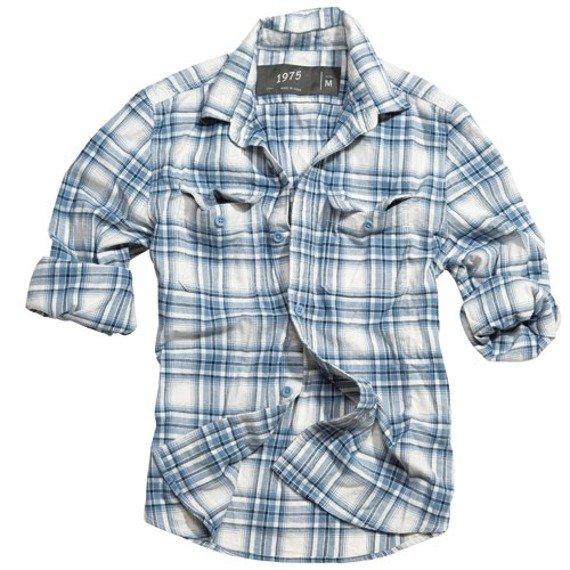 koszula WOOD CUTTER - NAVY CARO