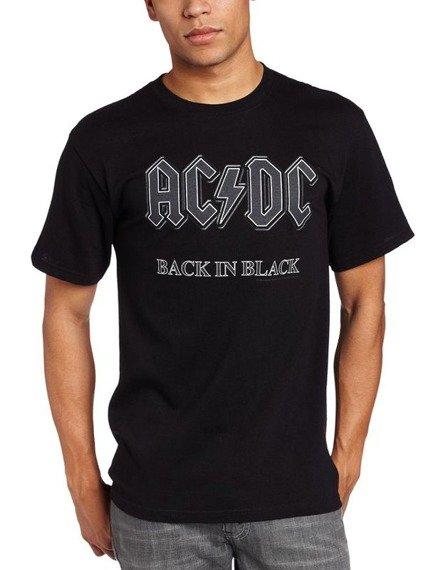 koszulka AC/DC - BACK IN BLACK black