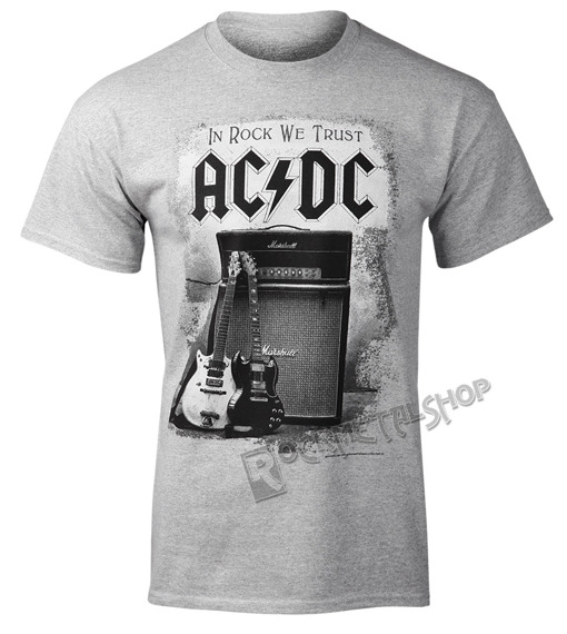 koszulka AC/DC - IN ROCK WE TRUST