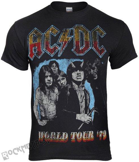 koszulka AC/DC - WORLD TOUR 79