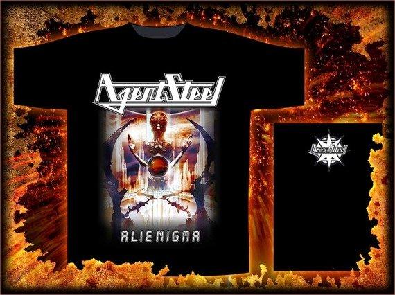 koszulka AGENT STEEL - ALIENIGMA