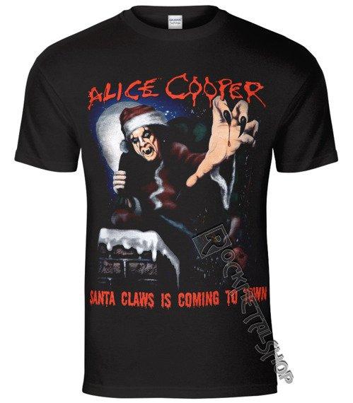koszulka ALICE COOPER - SANTA CLAWS