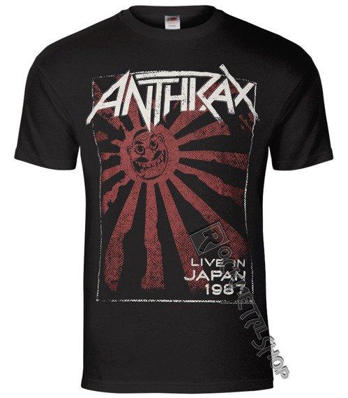 koszulka ANTHRAX - LIVE IN JAPAN