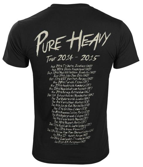 koszulka AUDREY HORNE - PURE HEAVY